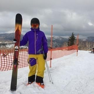 スキー初心者向けにプライベートレッスン