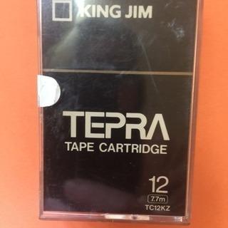 キングジム  テプラ、テープTR 2本セット