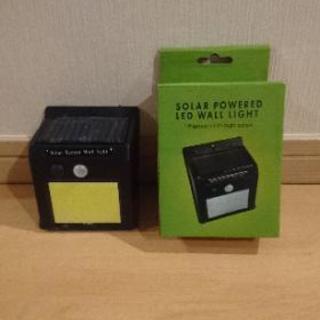 新品未使用!ソーラー充電 小型センサーライト♪(在庫あり)