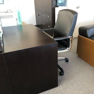 オフィス*木製家具*机椅子セット