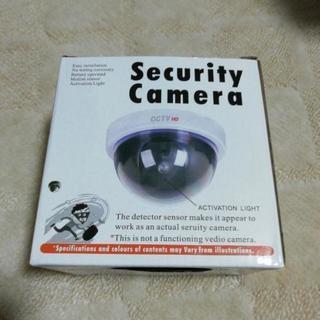 ダミー防犯カメラ電池式未使用