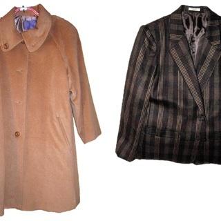 婦人コートとジャケット