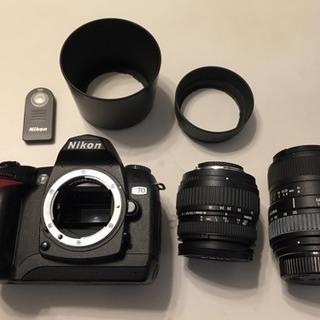 Nikon D70 と望遠SIGMA 55-200mm