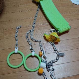 鉄棒、ブランコ、吊り輪にもなる