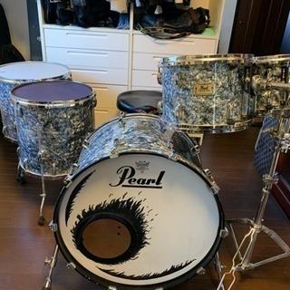 Pearl,Mastars,Standard Birchのドラムセット
