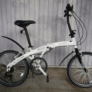 軽い!★ヴァクセンの折りたたみ自転車 中古自転車 218
