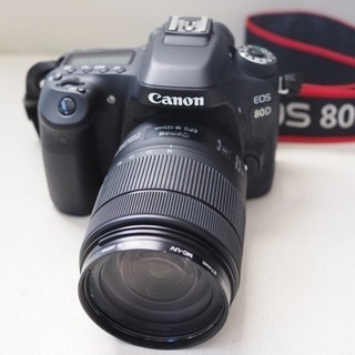 CANON EOS 80D / EF-S18-135 IS US...