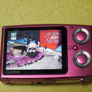 デジタルカメラ 新品未使用バッテリ2個 アダプタ付き SD:4G...