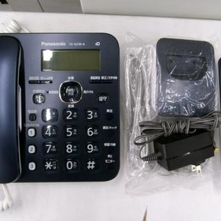 札幌 美品 コードレス電話機 子機1台付き パナソニック VE-...
