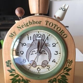 木製ベル音目覚まし時計