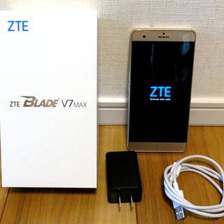 ☆ SIMフリー スマートホン ZTE BLADE V7 MAX...