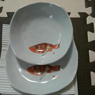 小鉢・平皿セット(めばると白梅)