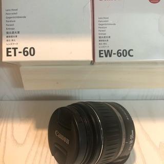 Canon efs18-55mm レンズ レンズフードセット