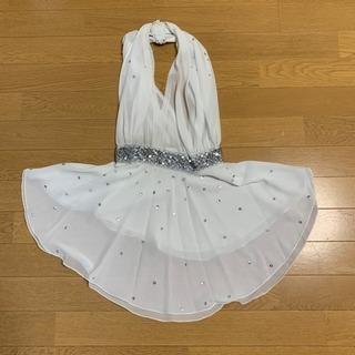 美品‼️女児用 ドレス 白 バレエ ダンス コンテンポラリー