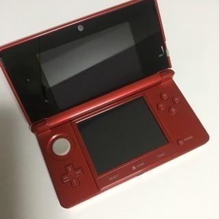 新品 任天堂3DS メタリックレッド