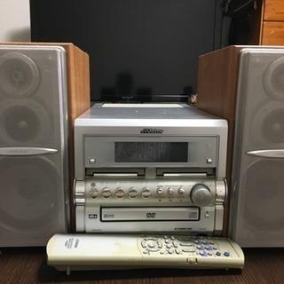MD CD ラジカセ コンポ DVDプレーヤー victor製
