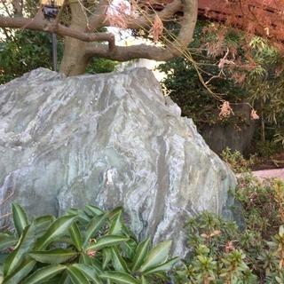 庭石 日本庭園 青石