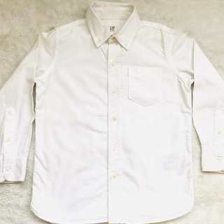 GAP ボタンダウンシャツ白 キッズ サイズ120