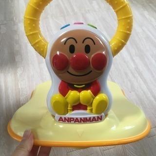 アンパンマンのトイレ補助器具