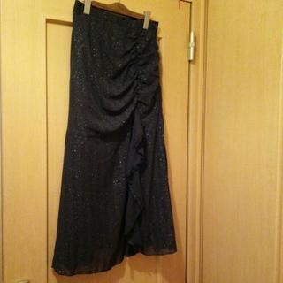 マーメイドラインのスカート M寸