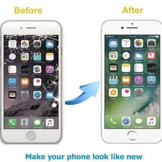 iphoneガラス修理とバッテリー交換いたします