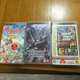 psp ゲームソフト 1つ300円