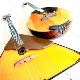 3本弦のロシア民族楽器「バラライカ」「ドムラ」の個人レッスンのご案内