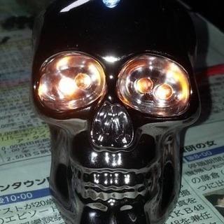 骸骨LEDライト1