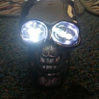 骸骨LEDライト2