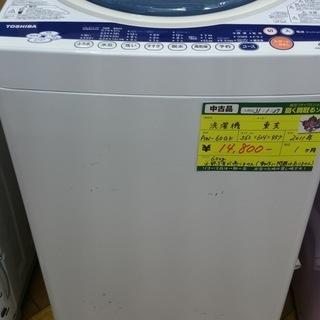 【高く買取るゾウ八幡東 直接引取】東芝 洗濯機 6.0kg '11年製