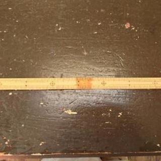 竹 ものさし 両目 50cm ソーイング・洋裁・ハンドメイドに