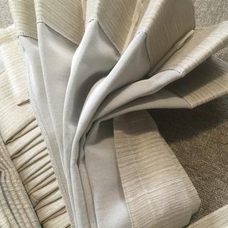 新品未使用:KEYUCAカーテン 155(よこ)x98(たて) x2枚