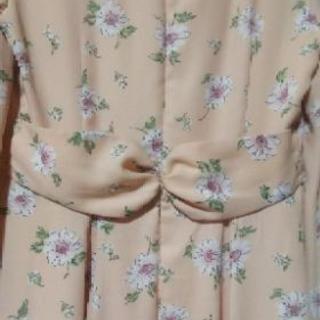 LDprimeの花柄シフォンワンピース M - 服/ファッション