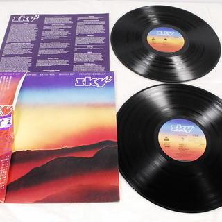 9019 見本品 LPレコード SKY SKY2 2枚組 帯付 ...