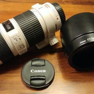 一眼レフカメラ用レンズ Canon EF70-200F4L IS...