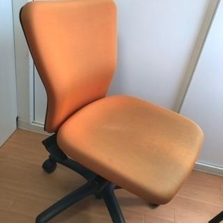 Okamura CK33ZR オフィス椅子 オレンジチェア パソコ...
