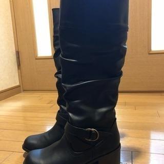 黒ブーツ(美品)