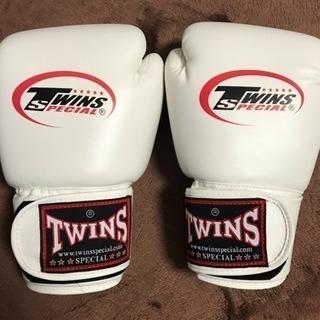 【新品・値下げ】ボクシンググローブ twins 14オンス…