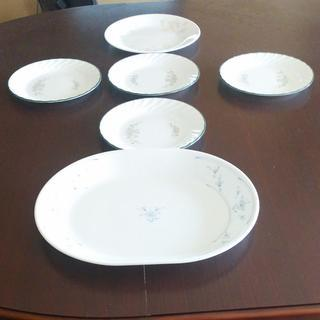 午後13時まで限定出品  CORELLE コレールのお皿 6枚セ...