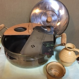 【新品・未使用】家庭用 おでん・湯豆腐鍋はセット