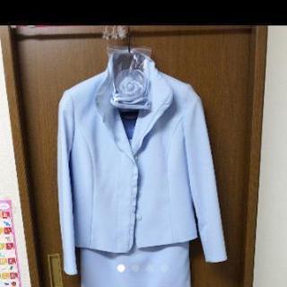 新品タグ付き スーツ コサージュ付き