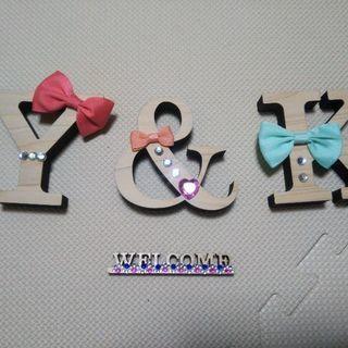 イニシャルY&K