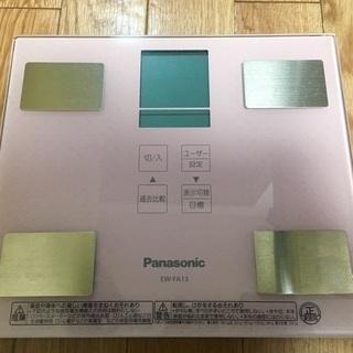 【2/18までお値下げ中】Panasonic 体重計 美品