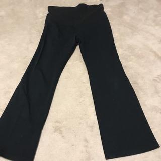 無印良品 マタニティズボン ブラック M~Lサイズ 黒