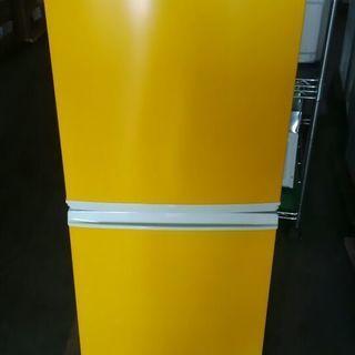 2ドア冷蔵庫 SJ-714-W 137リットルの画像