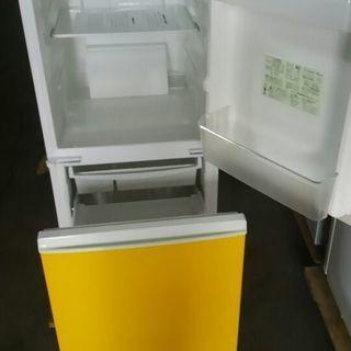2ドア冷蔵庫 SJ-714-W 137リットル - 札幌市