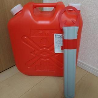 【未使用】灯油タンク&ポンプ収納ケース
