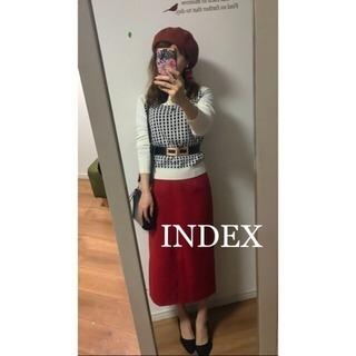 ☆INDEX☆インデックス  2wayニットプルオーバー