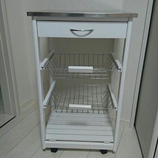 キッチンワゴン ホワイト