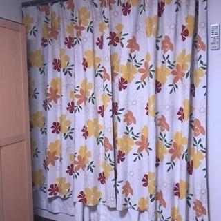 南国系🏝花柄カーテン♡